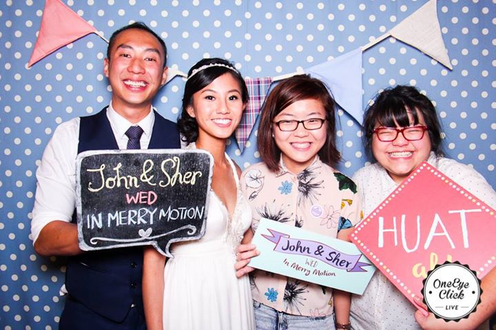 In Merry Motion with their clients, John & Sher