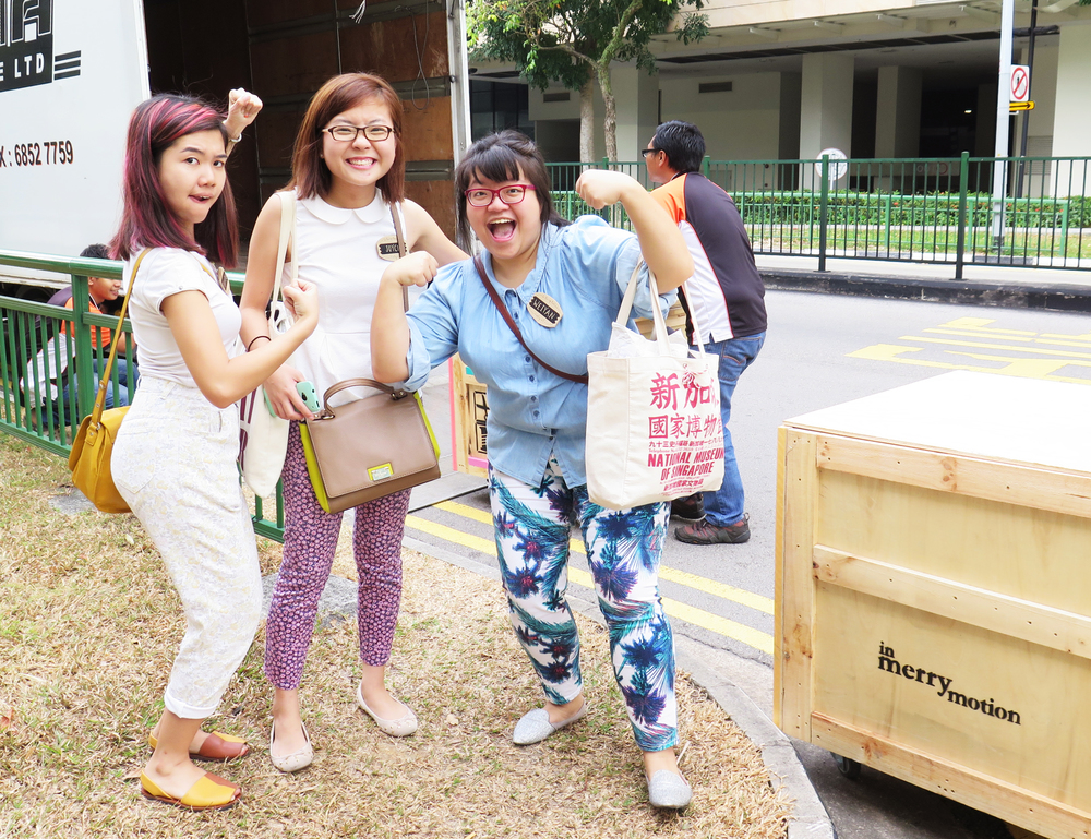 In Merry Motion and their newly commissioned crates