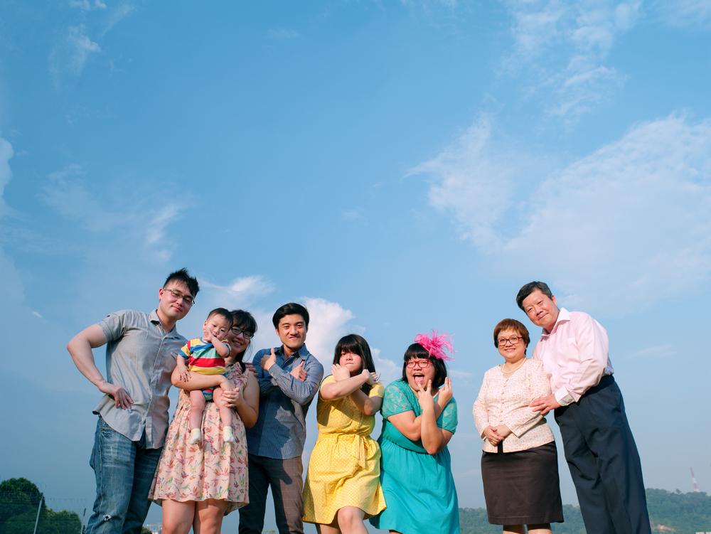 Weiyan's family