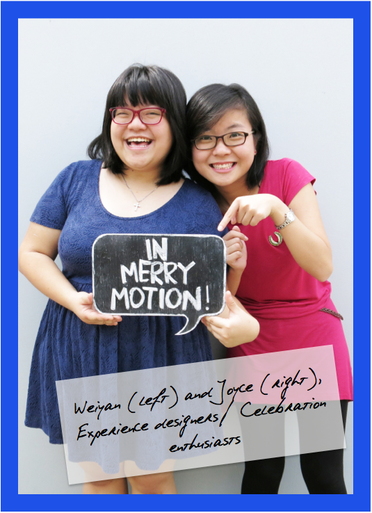 In Merry Motion Singapore Weiyan Chen Joyce Li
