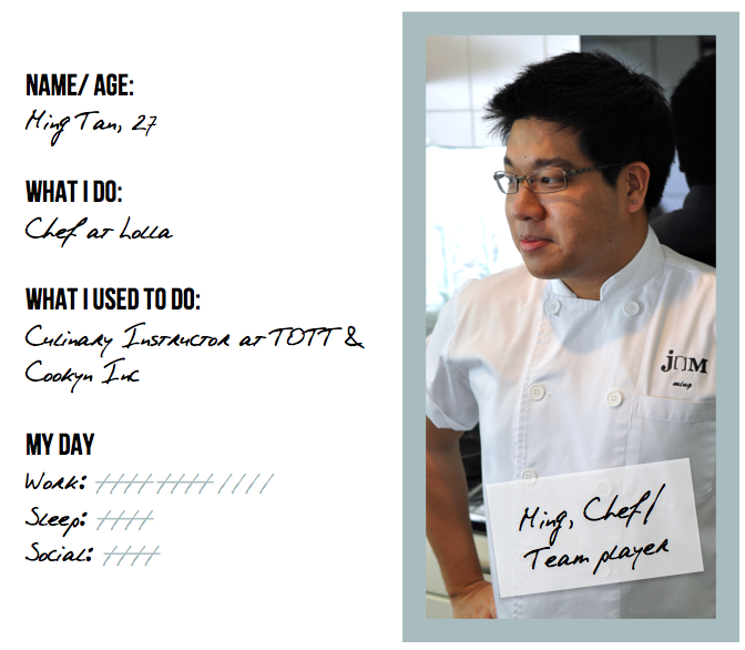 Ming Tan Chef Lolla Singapore