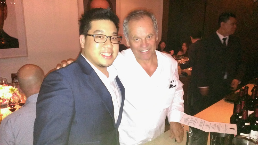 Ming and Wolfgang Puck