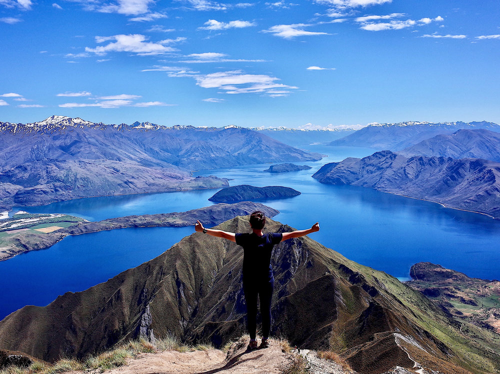 """A day spent in the outdoors is a day spent well."" [Roys Peak, New Zealand, 2017]"