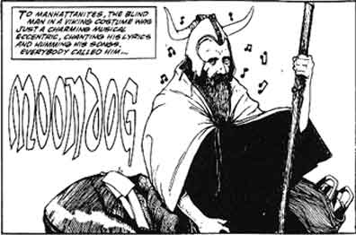 Moondog Comic Strip