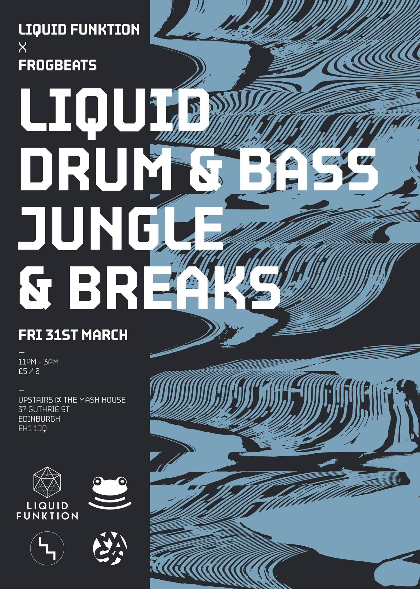 Liquid Funktion vs Frogbeats - Liquid DnB, Jungle & Breaks