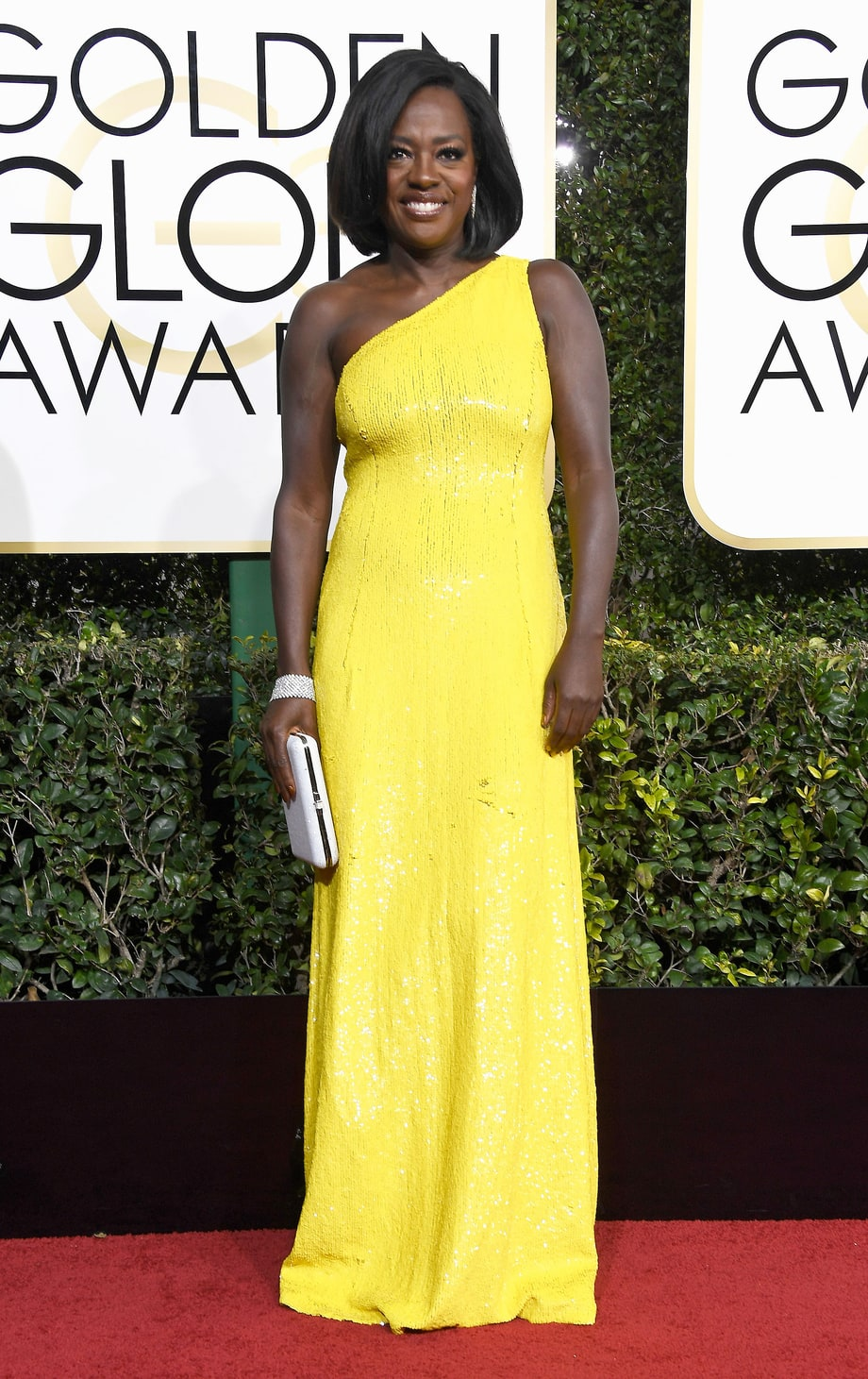 Viola Davis in Michael Kors (Photo Credit: Frazer Harrison / Getty)