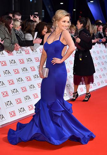 Ola Jordan wearing Ola Couture (Photo Credit: Matt Crosswick / PA Wire)