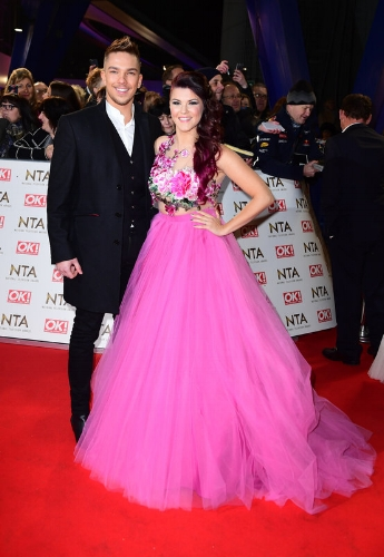 Matt Terry and Saara Aalto (Photo Credit: Ian West / PA Wire)