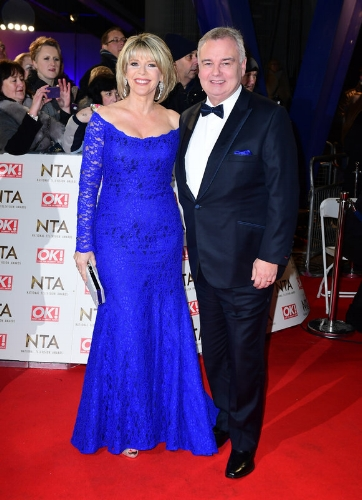Ruth Langford and Eamonn Holmes (Ian West / PA Wire)