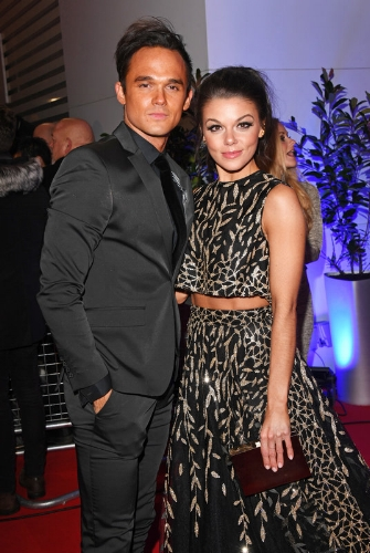 Gareth Gates and Faye Brookes (Photo Credit: David M Benett / Getty Images)