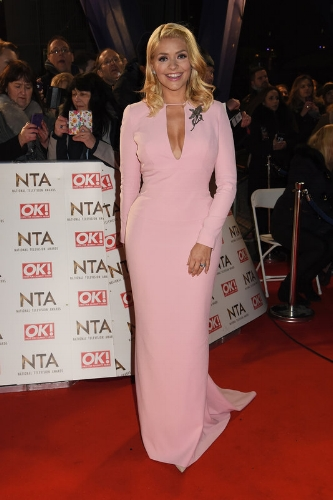 Holly Willoughby wearing Samuel Dougal (Photo Credit: Dave J Hogan / Getty Images)