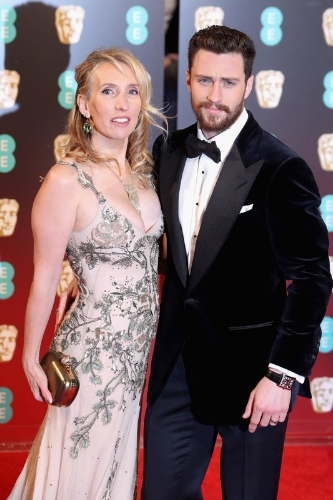 Sam Taylor-Johnson and Aaron Taylor-Johnson (Photo Credit: Chris Jackson / Getty Images)