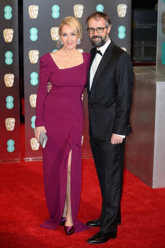 J. K. Rowling and Neil Murray (Photo Credit: Chris Jackson / Getty Images)