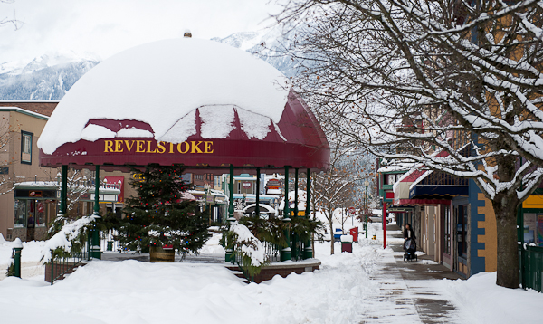 I've always fondly referred to downtown Revelstoke as Sesame Street