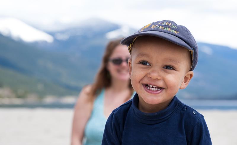 boy on beach in kootenays.jpg