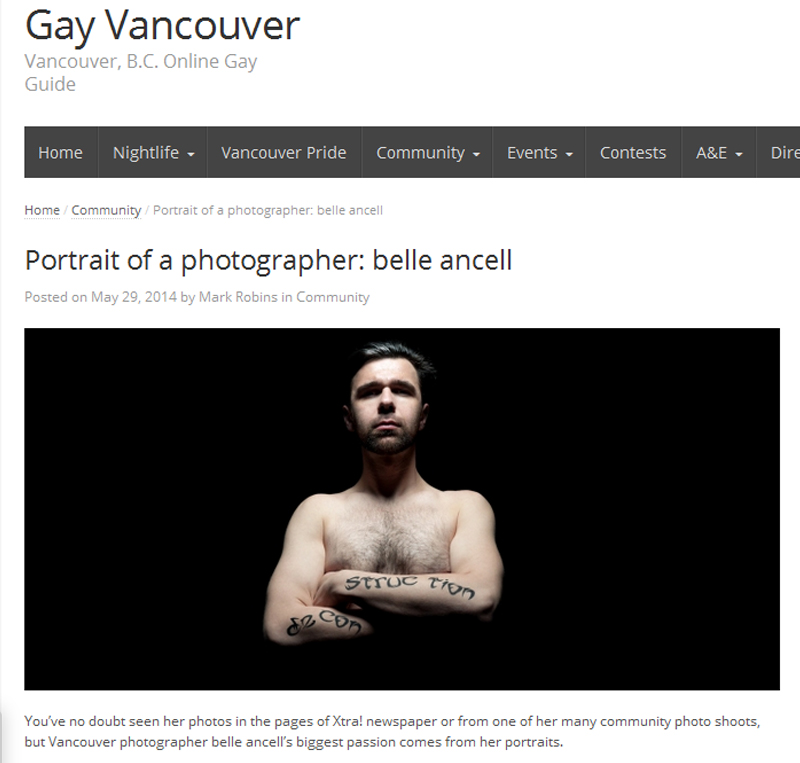 belle ancell gayvancouver.net