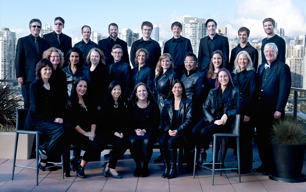 Vancouver Cantata Singers group photo