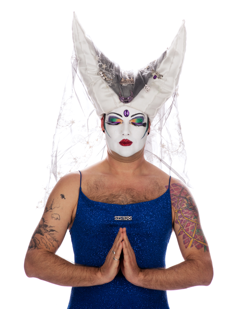 Sister Merry Q. Contrary, Founder and former Mother Superior of the Vancouver Sisters of Perpetual Indulgence.