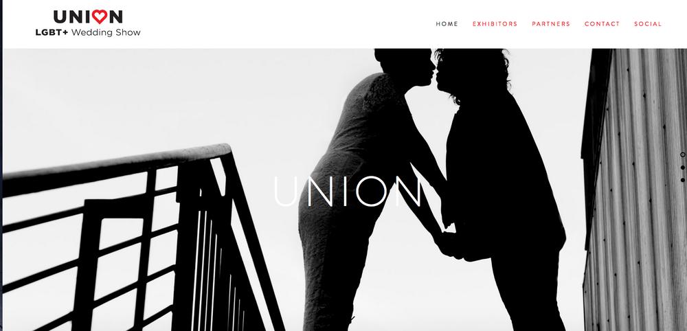 Union LGBT+ Wedding Show homepage