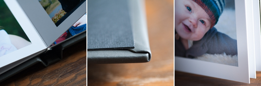 1mm PVC page core's are impermeable to humidity and warping.