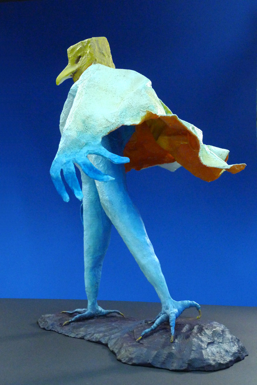 """Wind Walker"" Mixed media sculpture"