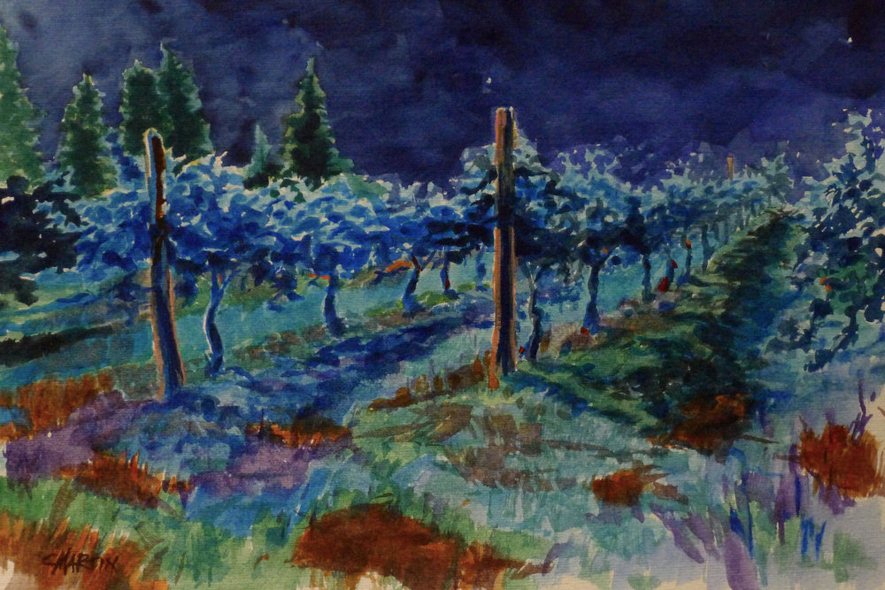 Midnight in the Vineyardhttps://squareup.com/store/chas-martin-watercolors