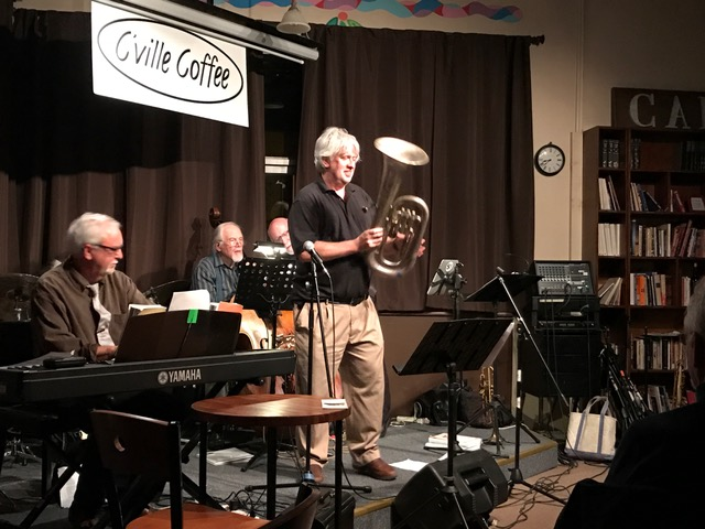 Richard Adams tells us about his vintage euphonium before taking some solos on it.