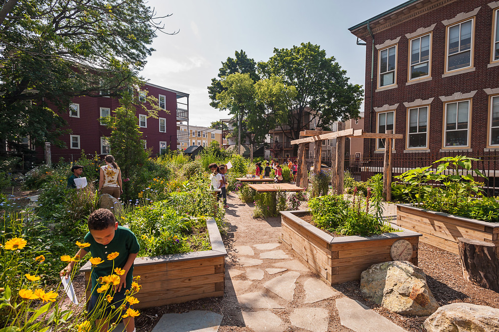 Boston Schoolyard Initiative, Boston, MA - Boston Society of Landscape Architects, Honor Award, 2014