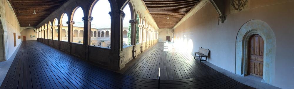 Courtyard of Convent de San Esteban, Salamanca