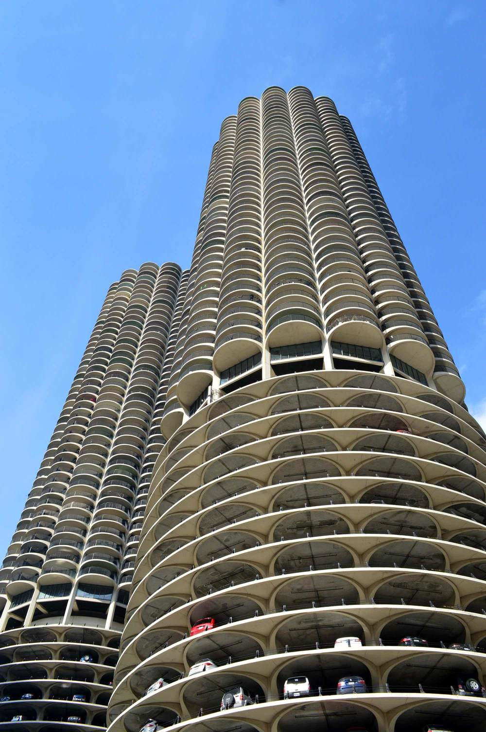 Marina City Designed by Bertrand Goldberg