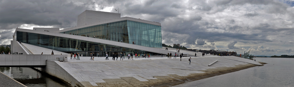 Snøhetta's Norwegian National Opera and Ballet in Oslo