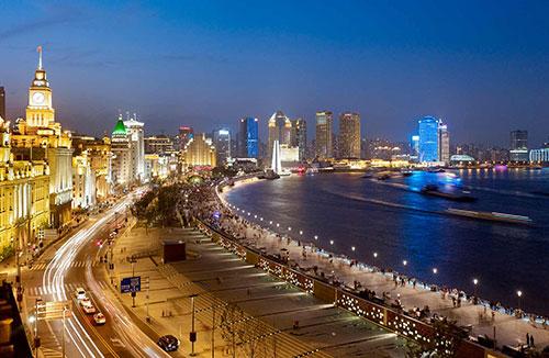 SHANGHAI BUND  Shanghai, China