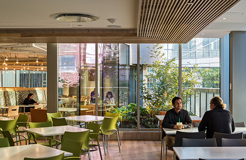 BRIGHAM AND WOMEN'S HOSPITAL | GARDEN CAFE Boston, MA