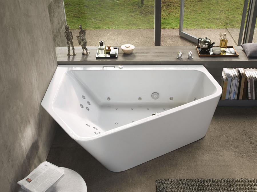 Pentagonal Corner Bathtub — JRML Associates: Award-Winning Interior ...