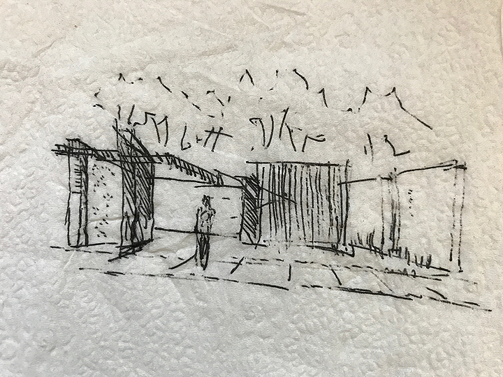 Napkin Sketch