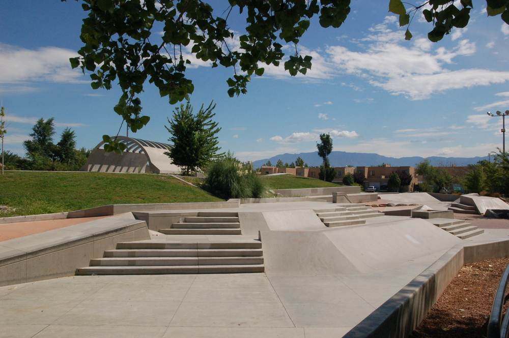 Alamosa Skatepark, Albuquerque, NM
