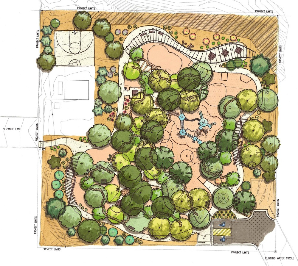 4 Four Hills Village Park, Albuquerque NM - Site Design