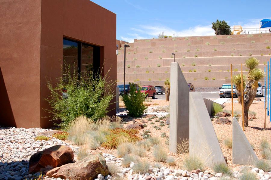 Southwest Medical Office xeric landscape