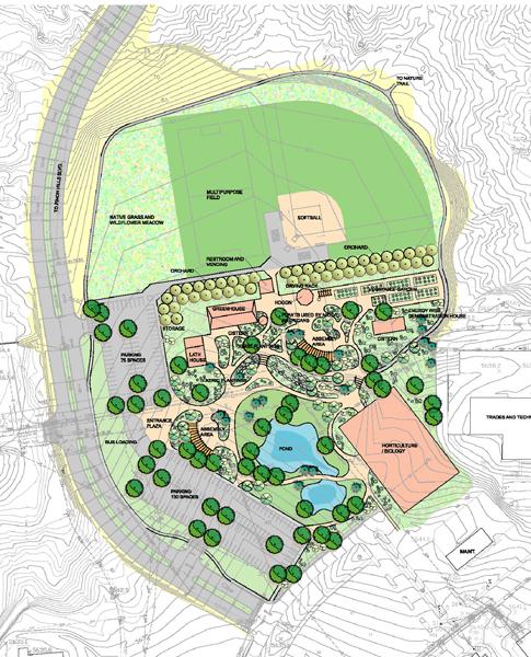 San Juan College masterplan