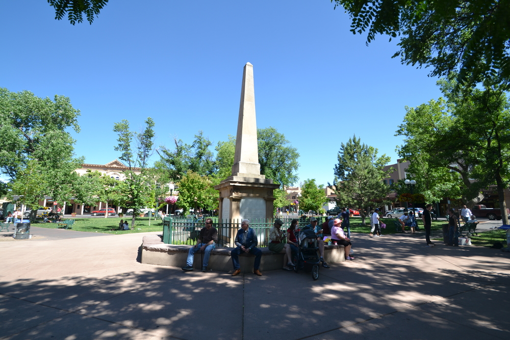 Historic Santa Fe Plaza, Santa Fe NM