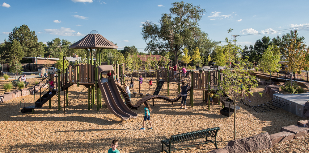 4 Four Hills Village Park, Albuquerque NM -  adventure play