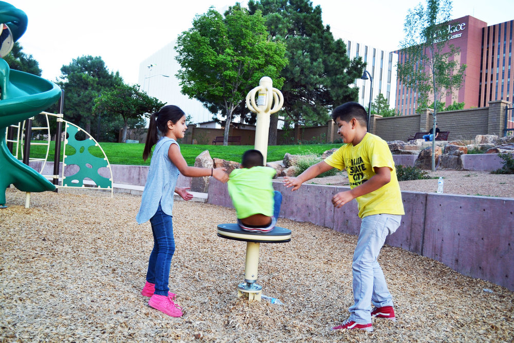 Spinners are always one of the most popular pieces of equipment at play areas
