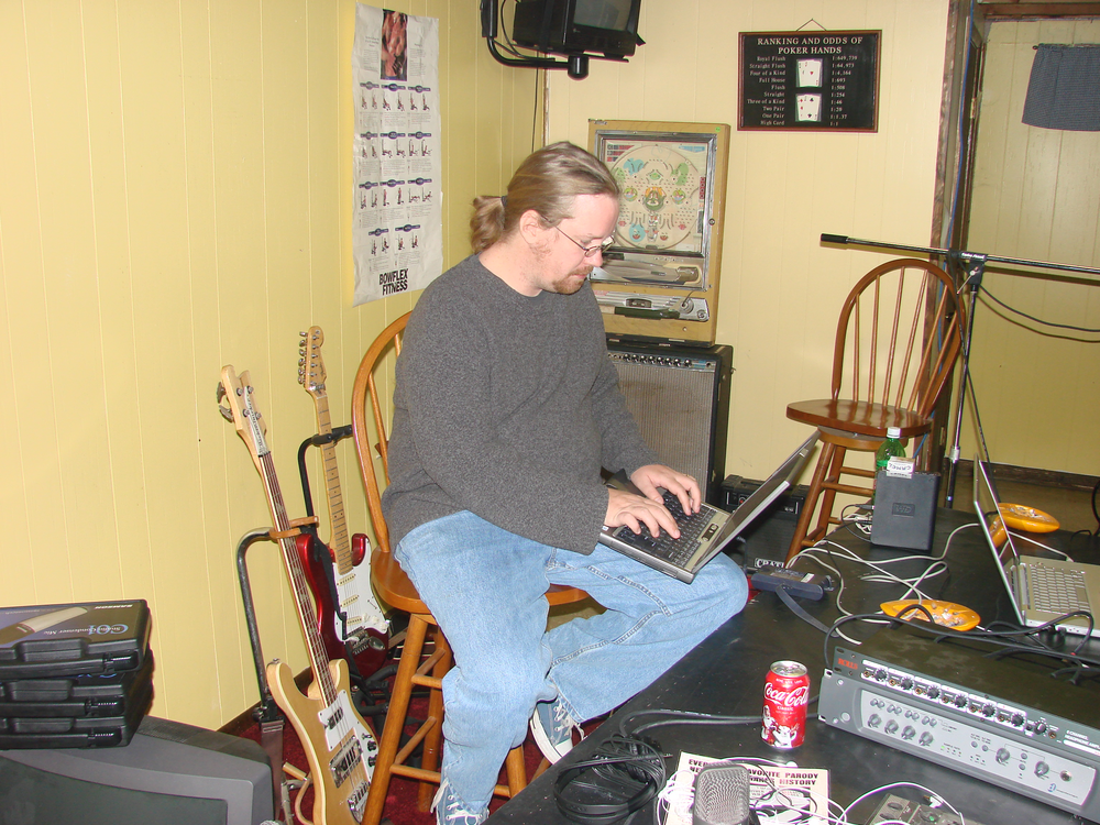 Bug at NTA Studios 2007