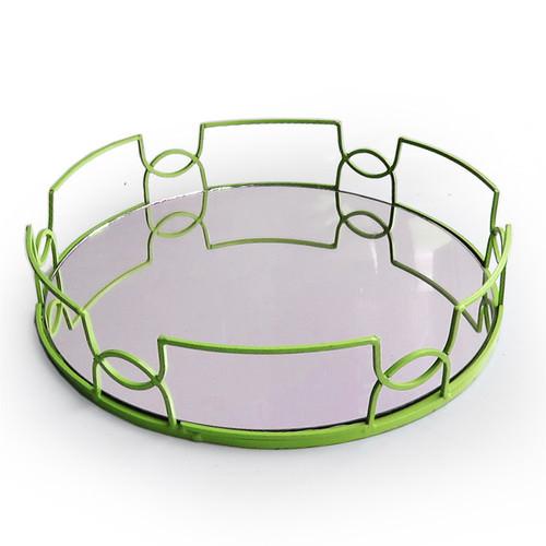 Green Mirror Tray