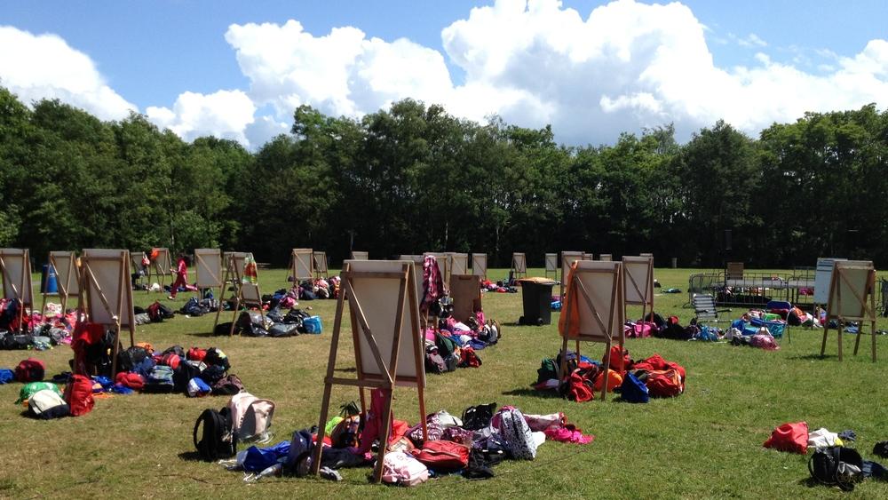 Welke school laat zijn verzamelplek dit jaar het schoonst achter en wordt hiervoor beloond?