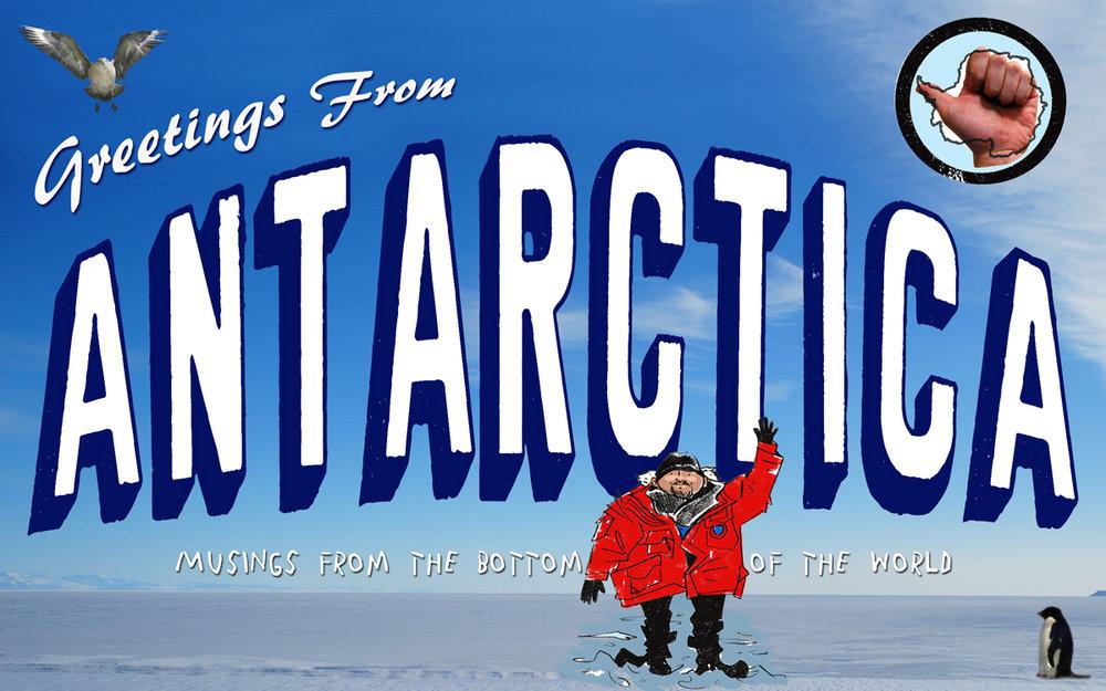 One of my Antarctica books in progress…
