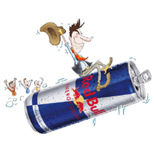 Red Bull Cartoons | Pre-Roll, OOH, POS