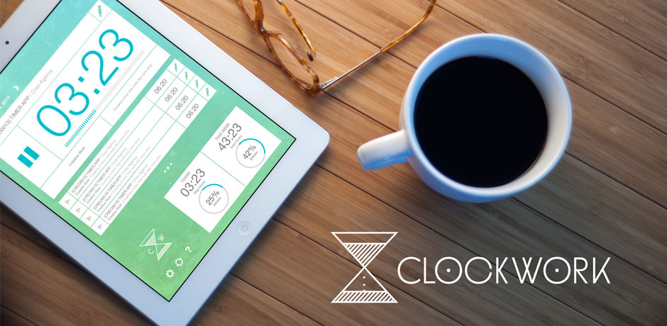 Product overview of ClockWork, project time tracking on your iPad.