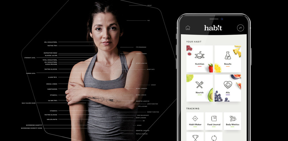 Product design overview of Habit, a ground breaking personalized nutrition company.