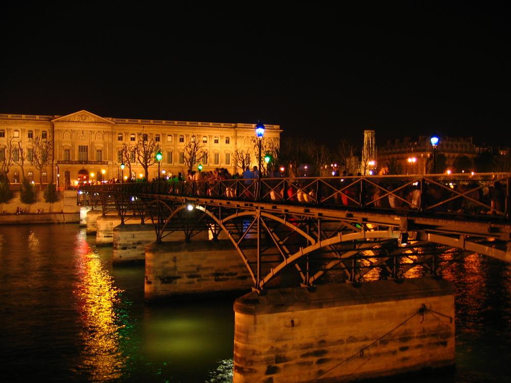 Paris, after dark